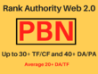 Rank Authority Web 2.0  Up to 30+ TF/CF and 40+ DA/PA  Backlinks