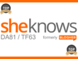 Publish content at SheKnows.com that links back to your website (DA: 81 / TF: 63)