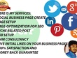 Create social business pages