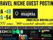 Premium Guest Post on Travel Niche Maptia Da 48 Dofollow