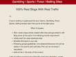 Guest Post on DA50+ Sites For Casino | Gambling | Sports | Poker | Betting Sites