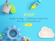 Fix PHP script error, issue, problem and explain solution