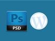 Convert PSD to WordPress theme