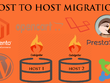 Transfer websites from one host to other host, DNS migration etc