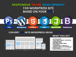 Convrt PDS to HTML5/CSS Responsive Webpage using Bootstrap