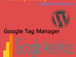 Add Google analytics & Google tag manager on WordPress Website
