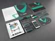 Design stationery pack with business card, Letterhead & Envelope Design