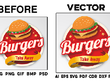 Convert your logo, jpg, png or graphic to vector (.AI .EPS .SVG .PDF) in 1 day
