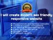 Design And Develop SEO Friendly, Responsive  WordPress Website