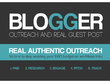 Do Blogger Outreach And Niche Guest Posting SEO 2000+ Sites