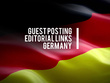 Publish 6 German Blog Posts in related niche with unique articles
