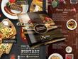 Design elegant menu, price list