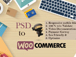 PSD to Woocommerce ( Fully Responsive & Functional WordPress theme)