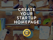 Develop and design your responsive Startup Homepage or Website