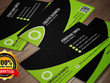 Design OUTSTANDING and beautiful 2  sided unique business card in 24 hrs