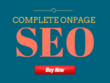 Complete On Page SEO Optimization from EXPERTS
