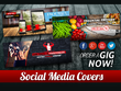 Design a Professional Facebook, Twitter, cover, ad