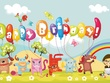 Create special happy birthday animation video greeting