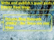 Write and publish 5 guest posts on DA60+ Real blogs