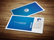 Design (single/double) sided Business Card (with QR code)