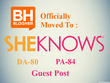 Write and Publish guest post on Sheknows, Blogher DA 80 PA 84