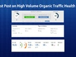 Write and Publish a Guest Post on High Volume Organic Traffic personal Health Blog