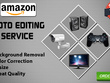 Do Background Removal, Photo Editing, Amazon Product 20 Images