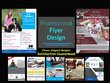 Design an eye-catching flyer or brochure for your business.