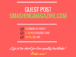 Add a guest post on smashingmagazine.com