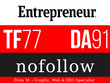 Publish a guest post on Entrepreneur.com - DA91, TF77