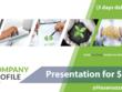 Design company profile presentation