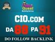 Write & Publish an Exclusive guest post on CIO.com (PA91, DA88)