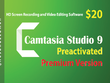 Camtasia 9 (HD Screen Recording & Video Editing Software) with Lifetime Activation