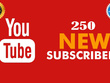 250 YouTube Subscriber Non Drop Granted For Your Channel Social