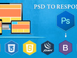 Convert PSD to Responsive Bootstrap HTML
