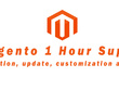 1 Hour Support for Magento & Magento2