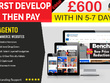 Design a fully featured Responsive eCommerce website online shop Magento/Wordpress