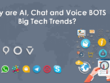 Build Text/Voice Chatbots for mobile app and social media