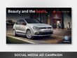 Plan, design and deliver a social media advertising campaign