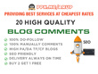 Comments On 20 Blogs To Boost Your Web Serp