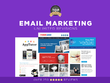 Design an email for your business (PSD/ MAILCHIMP)