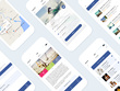 Design Professional UI / GUI / UX For Android / iOS App with Editable PSD's in HD