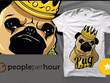 Draw An Eye Catching CARTOON TSHIRT DESIGN