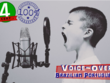 Pro male voice-over / voice over / voiceover in Brazilian Portuguese