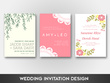 Create a stunning wedding/engagement/party invitation design