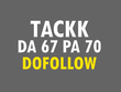 Boost your ranking with HQ Tackk Dofollow Link on DA:67