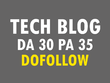 Publish guest post on my HQ Technology blog DA30 with Dofollow link