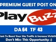I Will Write And Publish A Guest Post On Playbuzz DA 64