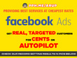 Setup, manage & optimize very effective Facebook Ads Campaign Get Targeted Real Users