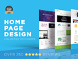 Design your homepage (PSD)